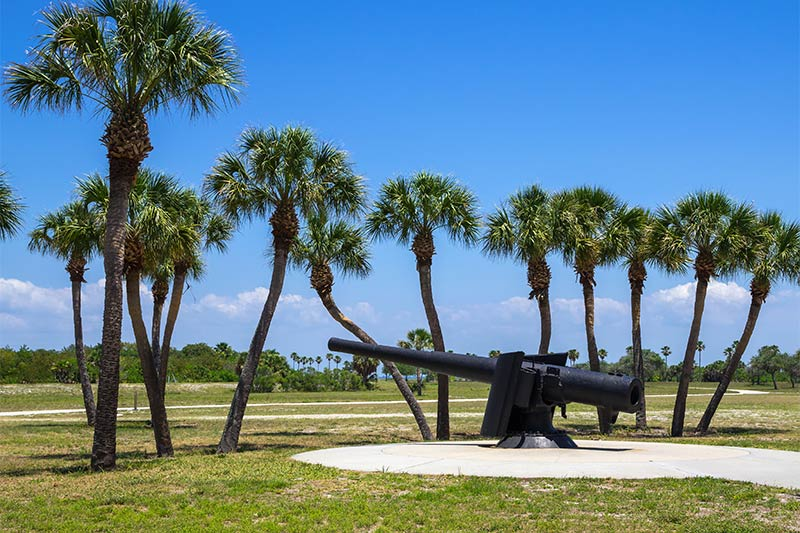 Canon at Fort DeSoto